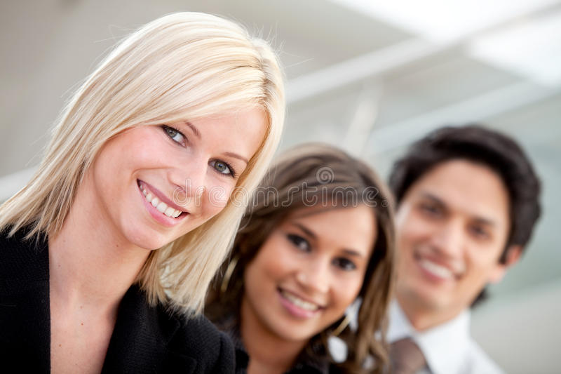 Download Business Group At The Office Stock Image - Image: 14020685