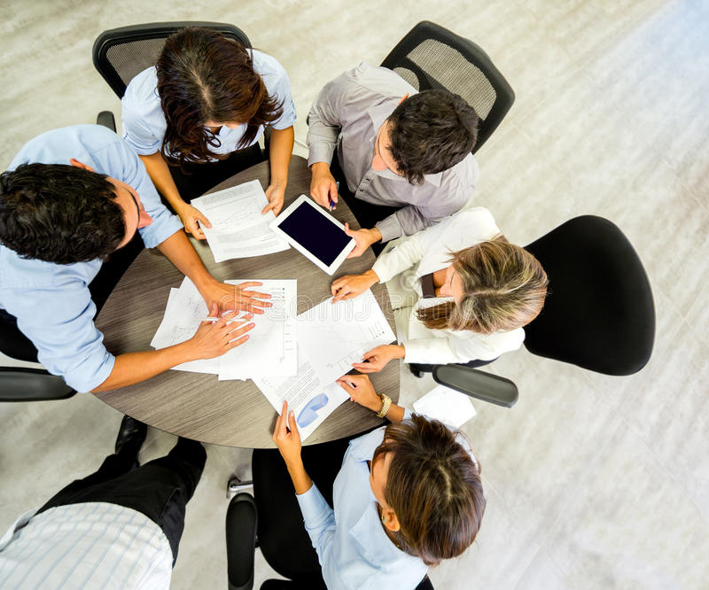 Download Business Group At The Office Stock Image - Image: 29449365
