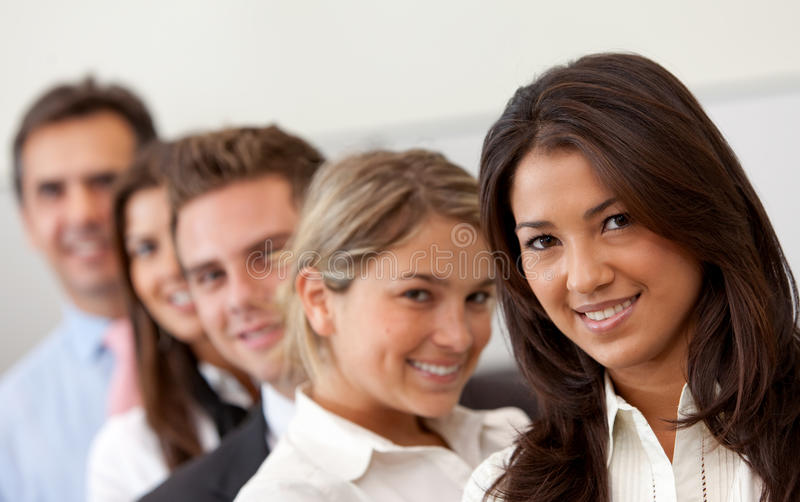 Download Business group smiling stock photo. Image of successful - 13806496