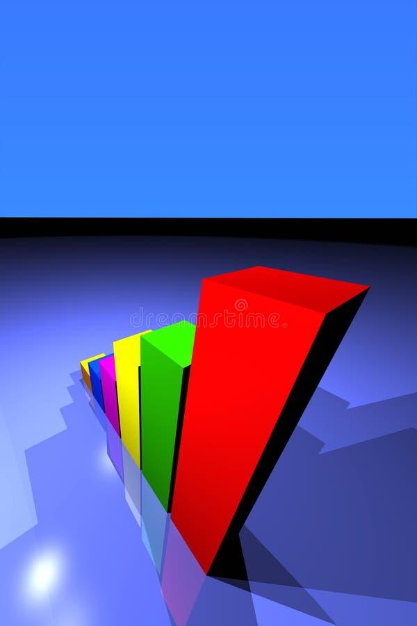 Business Growing graph stock photos