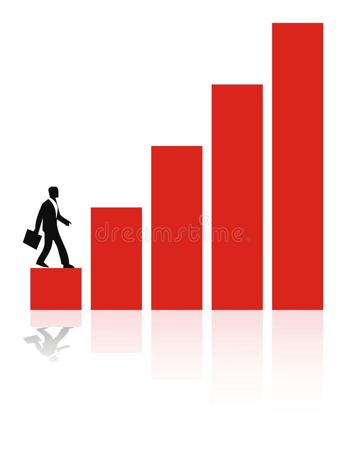 Download Business Growth stock illustration. Image of graphic - 11048171
