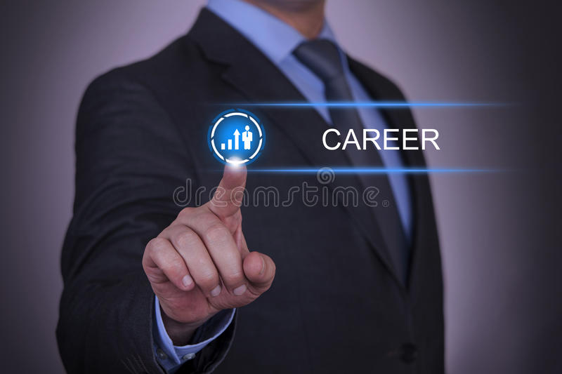 Business Growth Career royalty free stock photos