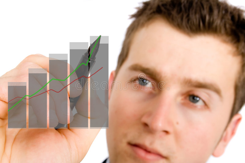 Download Business growth chart stock photo. Image of finance, flowchart - 1344264