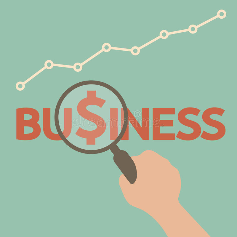 Business royalty free illustration