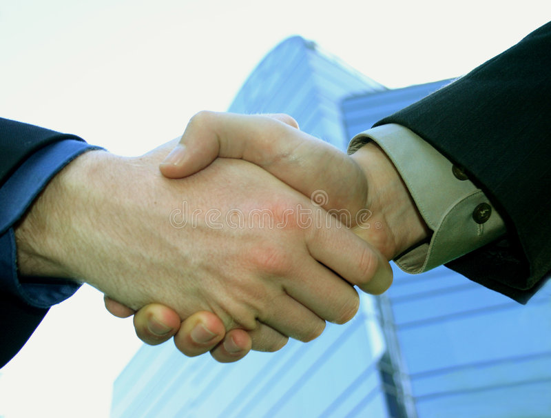 Download Business Hand Shake stock image. Image of color, dark, deal - 15139