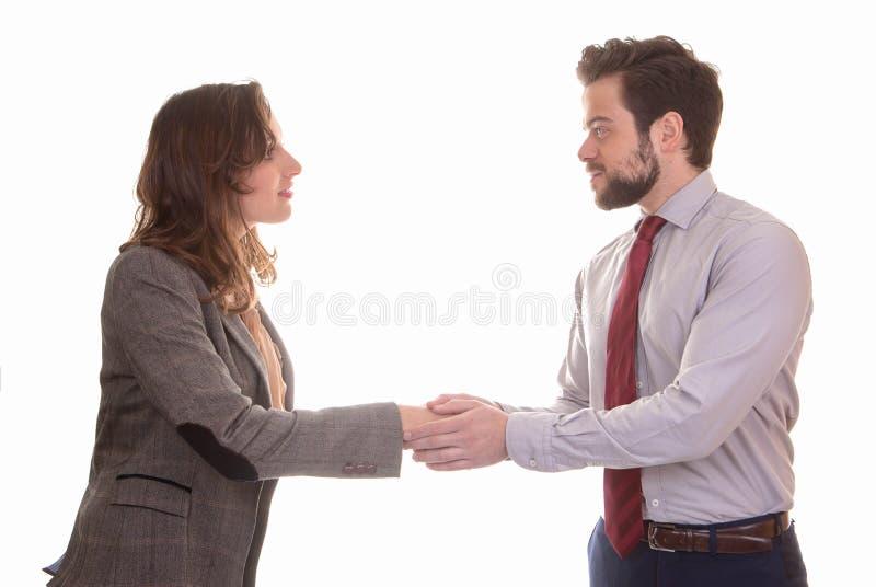 business hands partners shaking arkivbild