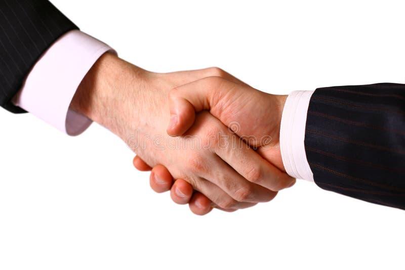 Business handshake. royalty free stock image