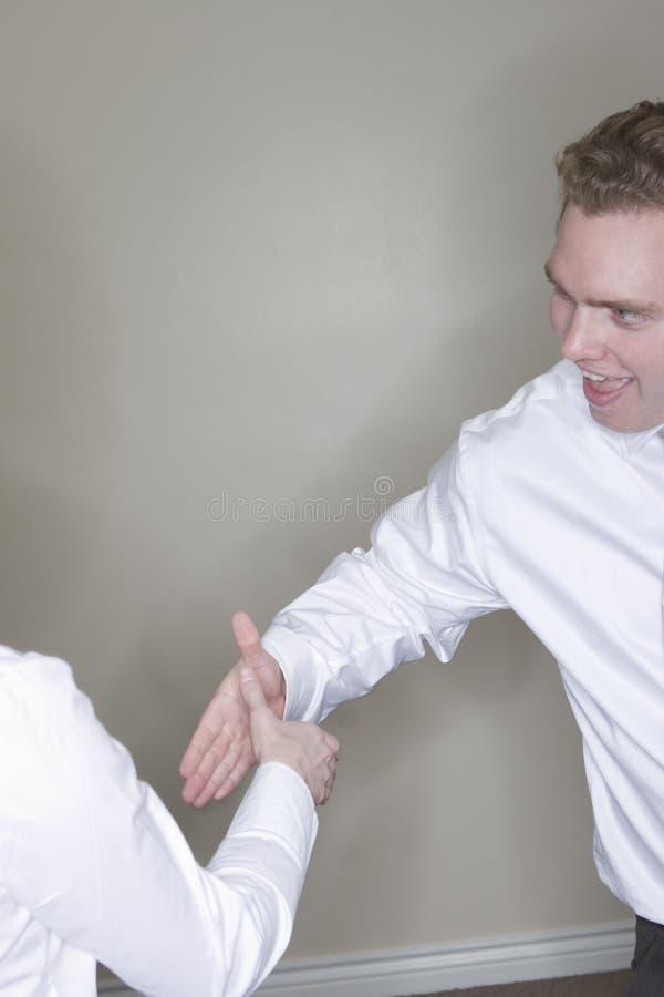 Download Business handshake stock image. Image of dedication, gray - 2798311