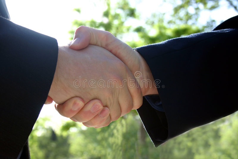Download Business handshake stock image. Image of grip, design, integral - 39687