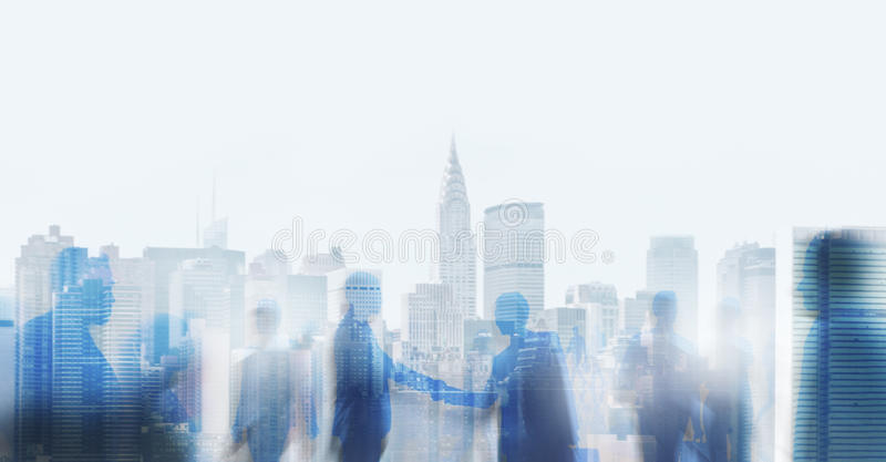 Business Handshake Agreement Deal White Collar Worker Concept.  royalty free stock image