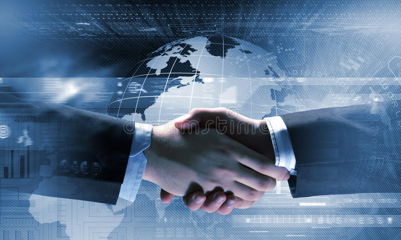 Business Handshake As Symbol For Partnership Stock Photo Image Of