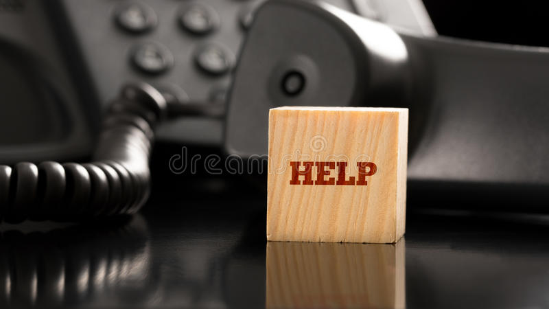 Business Help concept royalty free stock image