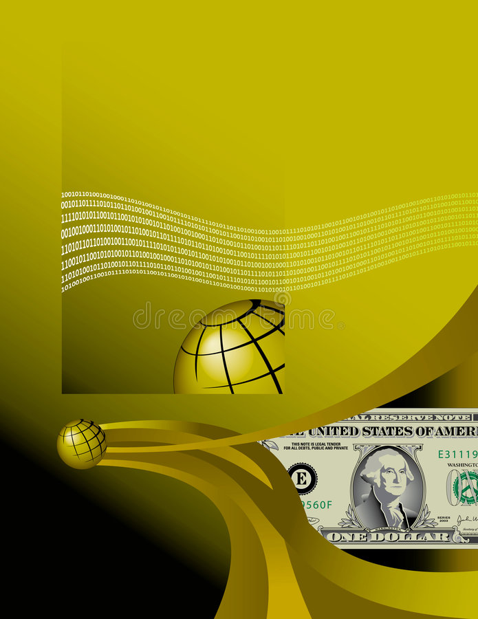 Business High Tech Background vector illustration