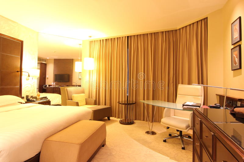 Business Hotel Suite Interior royalty free stock photos