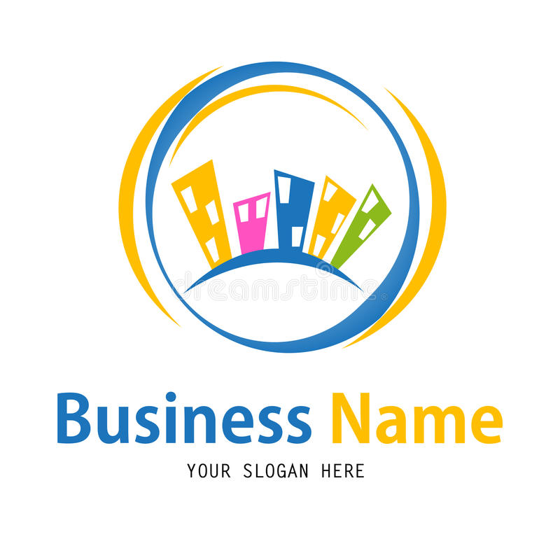 Business house icon design royalty free illustration