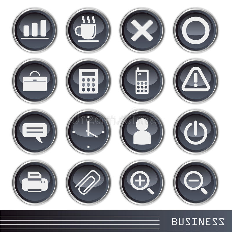 Business icon stock illustration