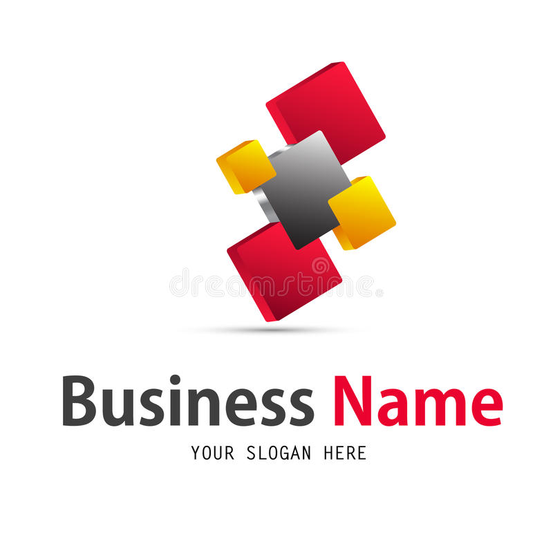 business icon design stock illustration