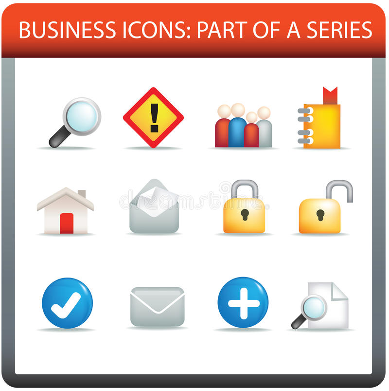 Business Icon Series 3 Stock Photography