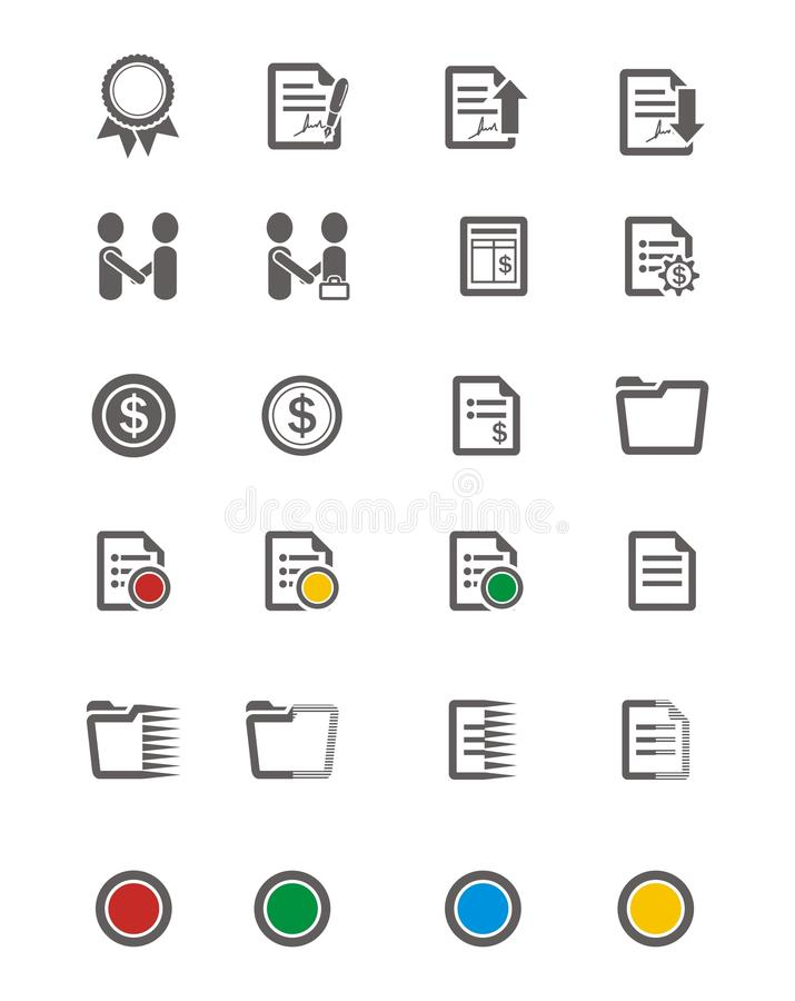 Business icon sets vector illustration