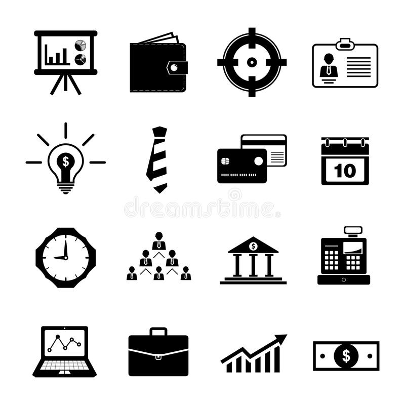 Business Icon royalty free illustration