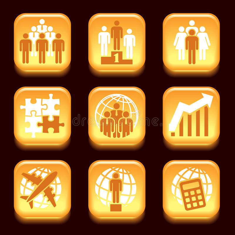 Download Business icons stock vector. Image of collection, element - 29474923