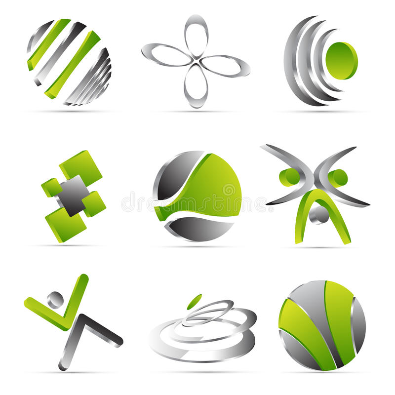 Business icons design stock illustration