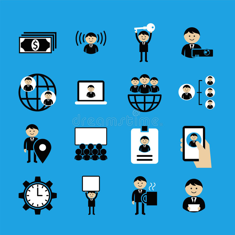 Business icons Pack 2 vector illustration