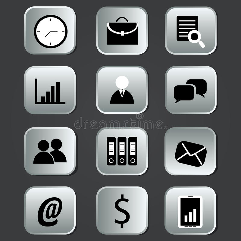 Download Business icons stock photo. Image of offer, business - 31996142
