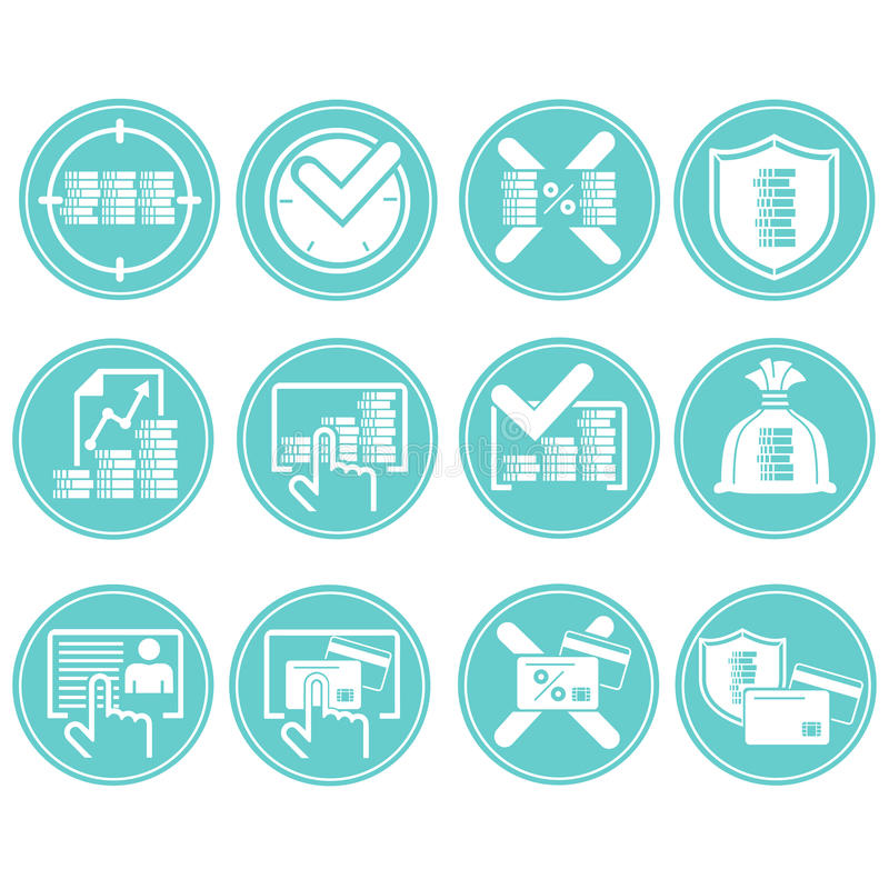 Business-Icons royalty free stock image