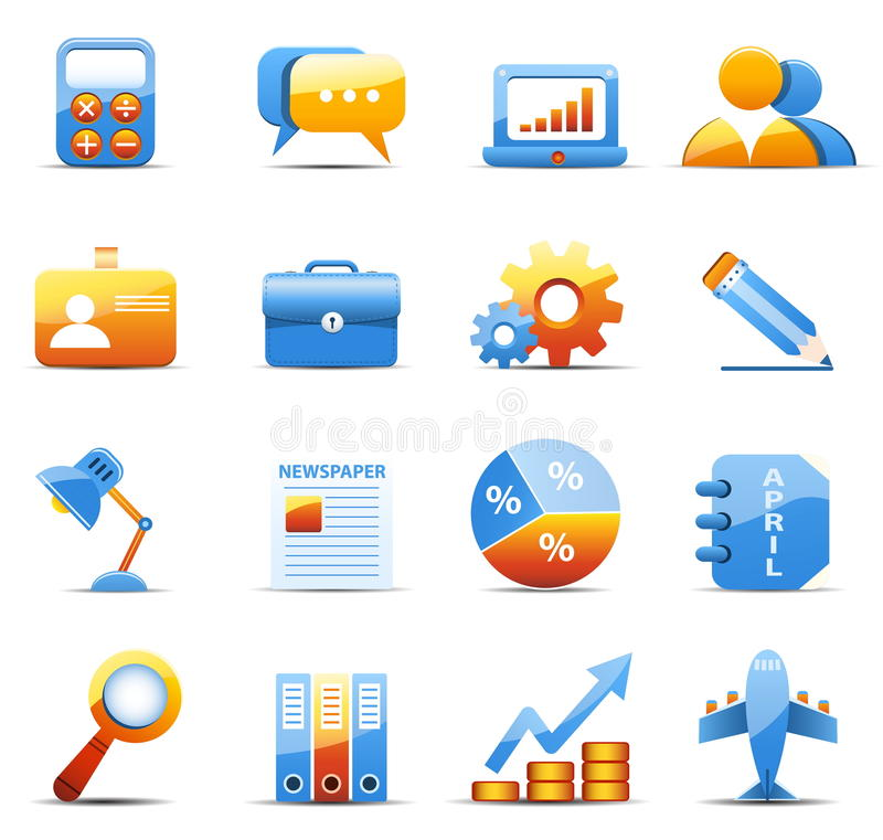 Download Business Icons Royalty Free Stock Image - Image: 37250836