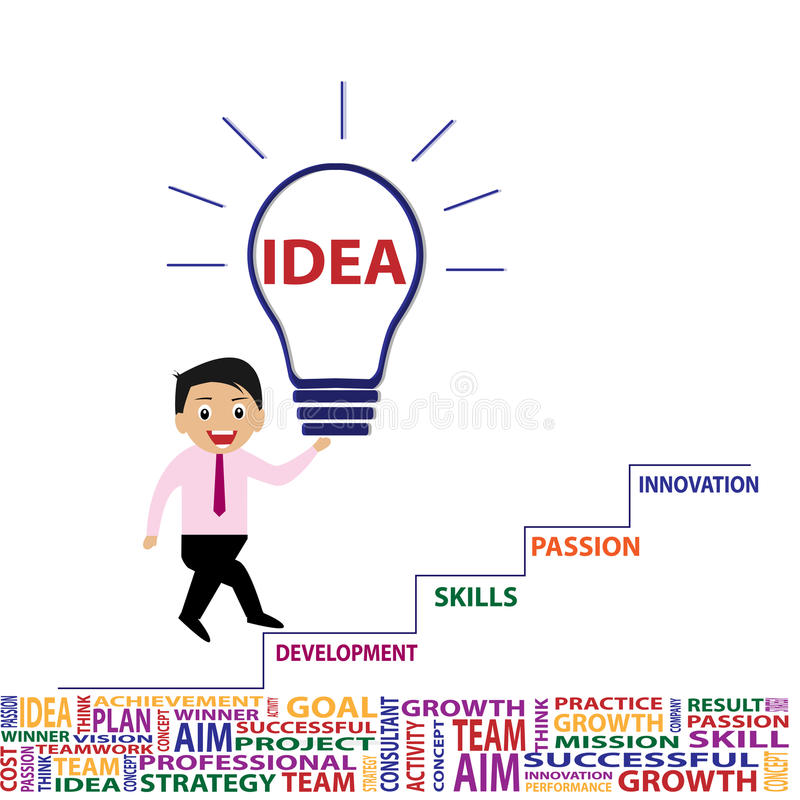 Free Business Idea And Innovation Royalty Free Stock Photo - 45744125