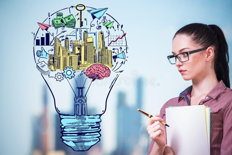 Business idea concept stock photos