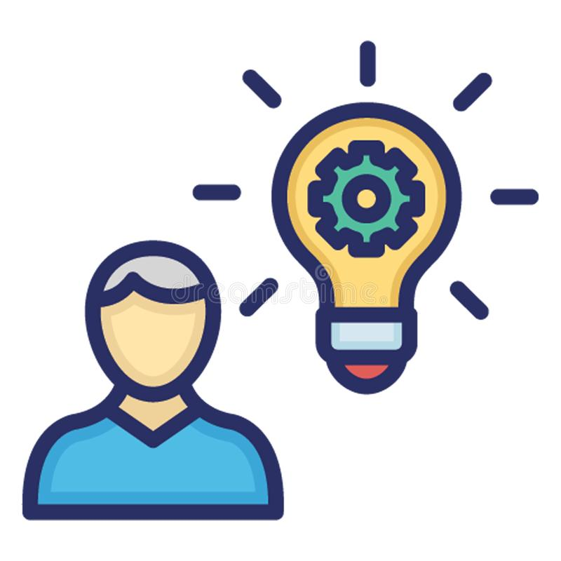 Business idea, creative marketing .   Vector icon which can easily modify or edit royalty free illustration