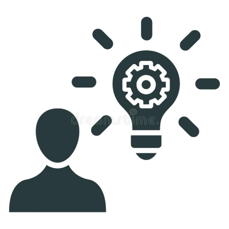 Business idea, creative marketing .   Vector icon which can easily modify or editable vector illustration
