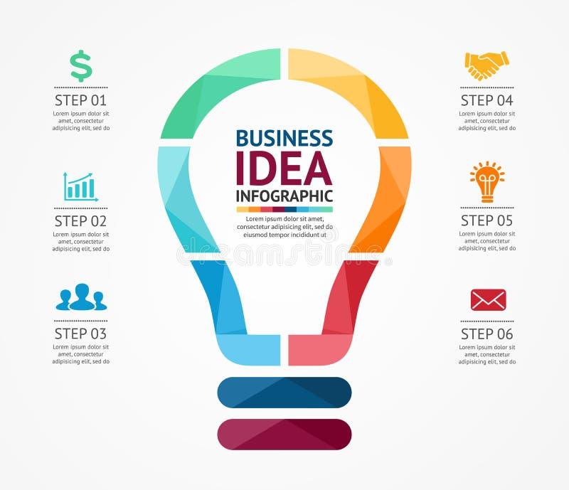 Business idea infographic light buble diagram stock vector download business idea infographic light buble diagram stock vector illustration of advertising global flashek Choice Image