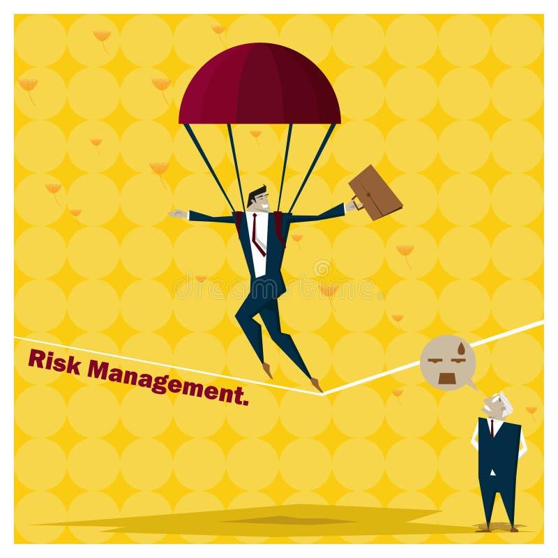 Business Idea series Risk Management concept 1 stock illustration