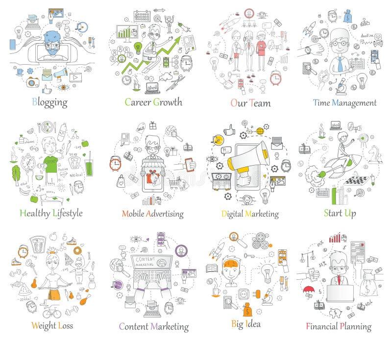 Business ideas sketch stock vector. Illustration of illustration ...