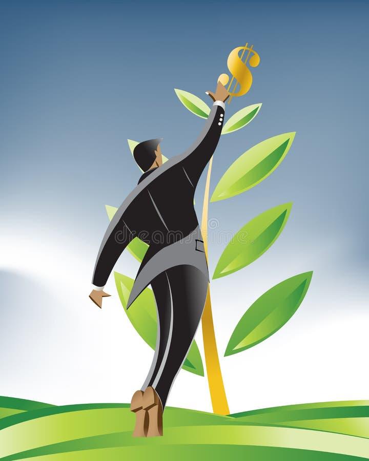 Business Illustration royalty free illustration