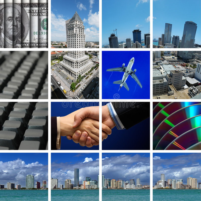 Free Business In Miami Royalty Free Stock Photography - 2410067