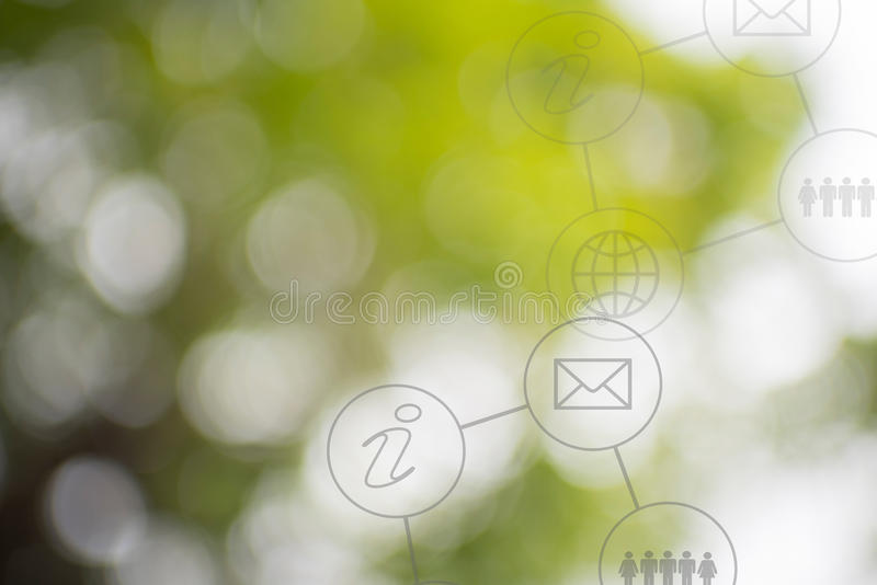 Business info graphic with blur background. Business info graphic with beautiful blur background royalty free stock photography