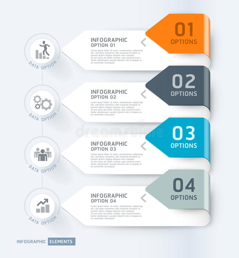 Business infographic elements template. Vector illustrations. Can be used for workflow layout, banner, diagram, number options,. Web design, timeline template vector illustration