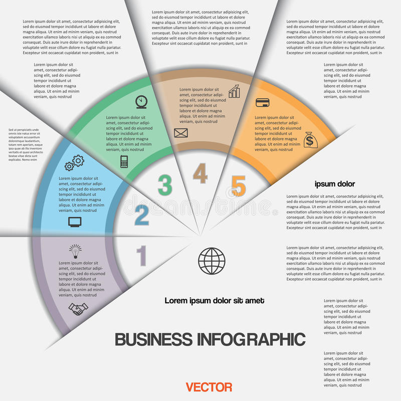 Free Business Infographic For Success Project And Other Your Variant Royalty Free Stock Photo - 47870545