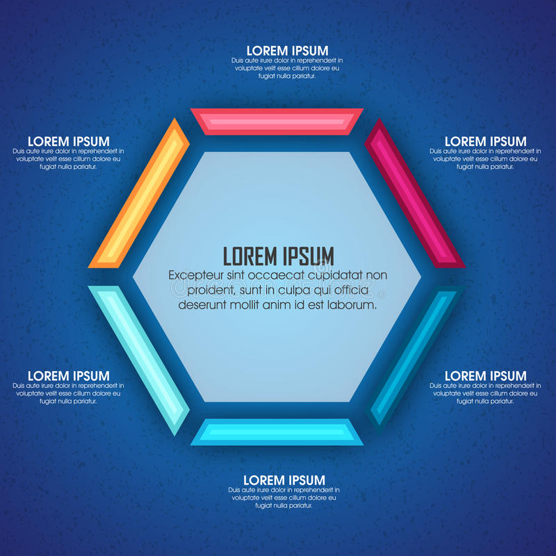 Business Infographic layout. Creative Business Infographic layout for your professional report presentation vector illustration