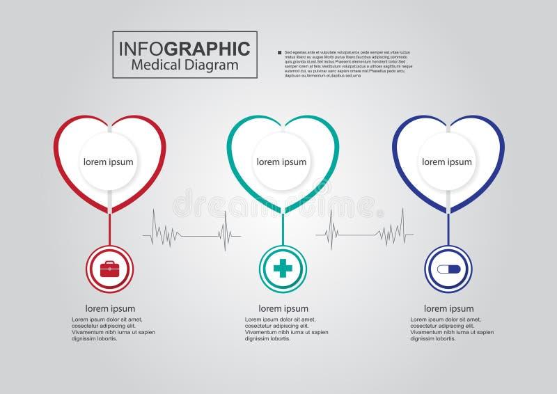 Business infographic medical diagram love heart vector stock vector download business infographic medical diagram love heart vector stock vector illustration of step medical ccuart Images