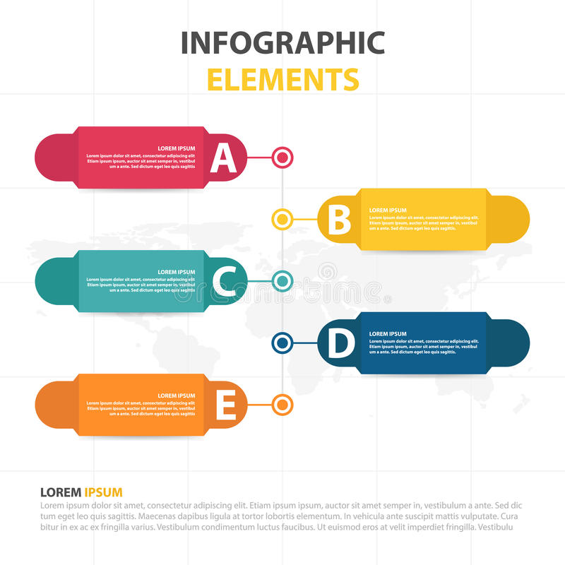 Business Infographic timeline process template, Colorful Banner text box desgin for presentation, presentation for workflow. Diagram design vector illustration