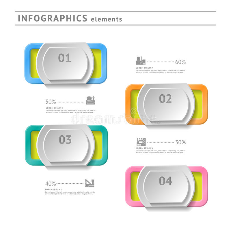 Download Business Infographics Elements. Modern Design Temp Stock Vector - Image: 37679570