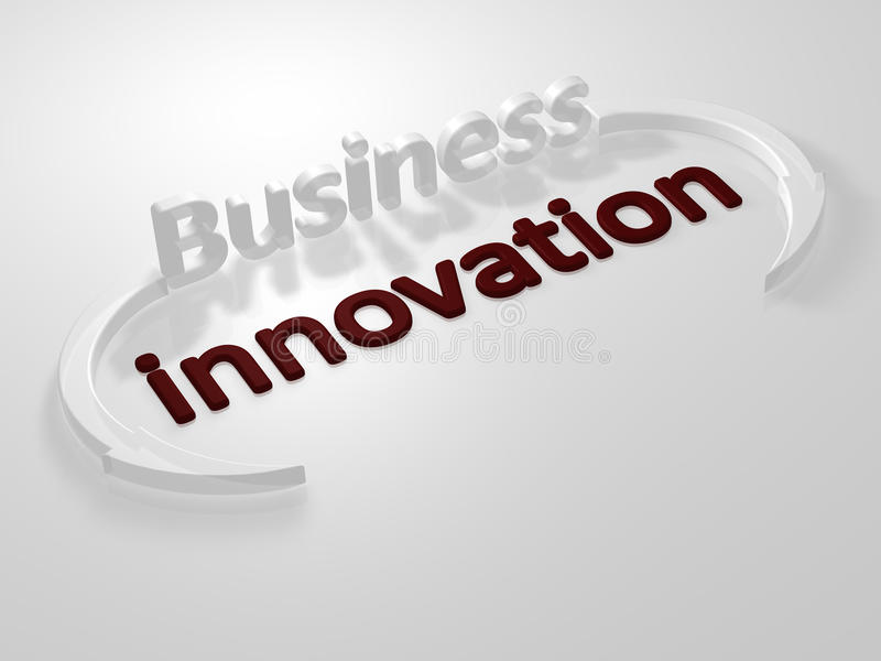 Business - Innovation - Letters Royalty Free Stock Images