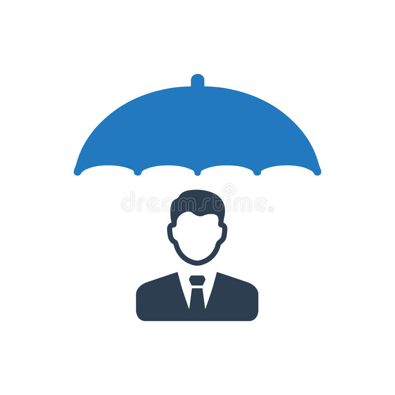 Business Insurance Icon. Beautiful Meticulously Designed Business Insurance Icon vector illustration