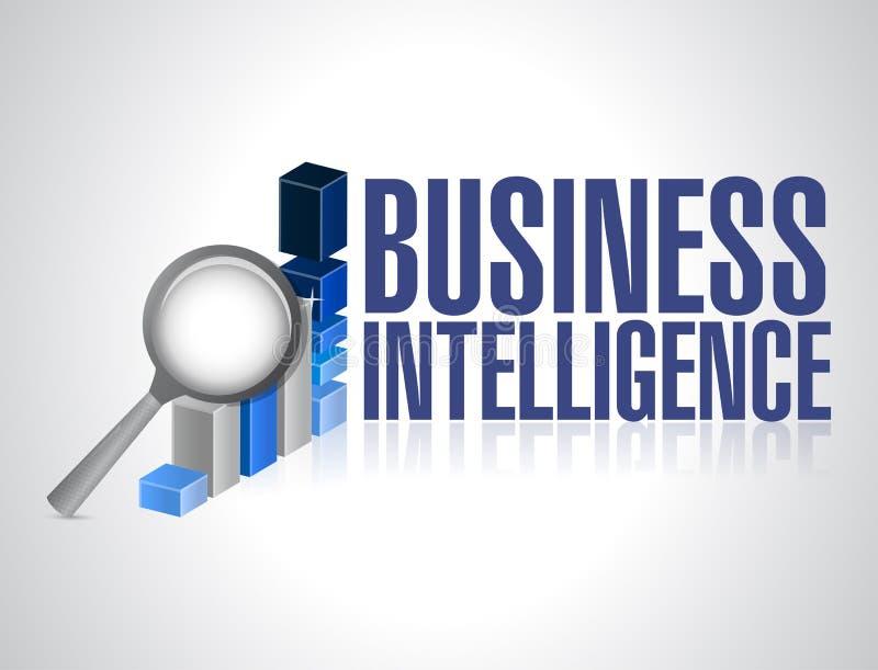 Business intelligence concept illustration design vector illustration