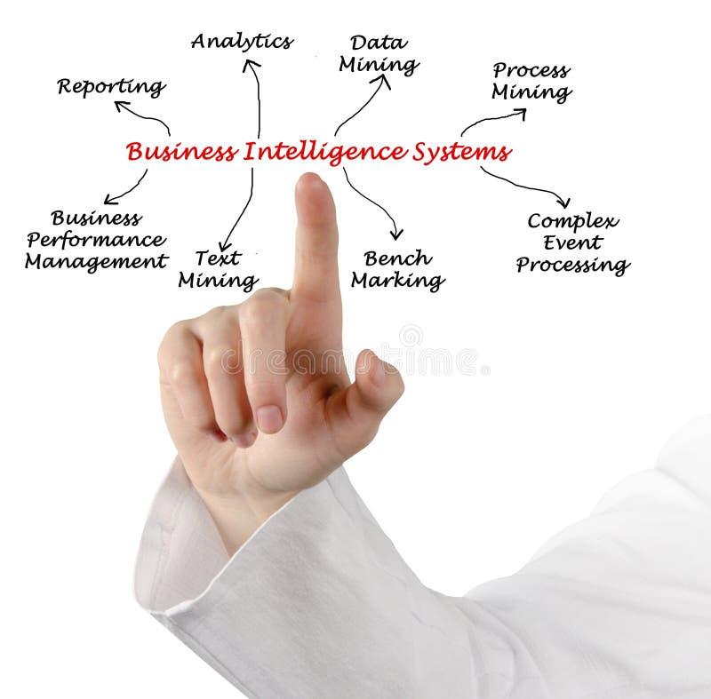 Business Intelligence systemy zdjęcia royalty free
